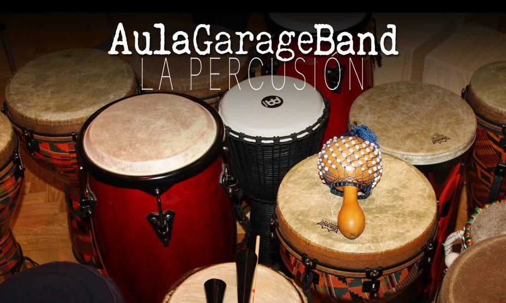 Iniciando Garageband: La percusión
