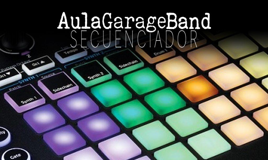 Iniciando GarageBand: Secuenciador